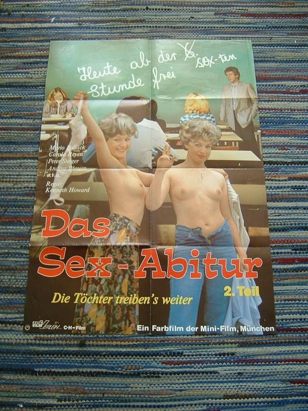 Erotik Poster: Das Sex - Abitur (selten)