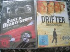 FAST AND DEADLY SPEED DVD + DRIFTER DVD NEU OVP