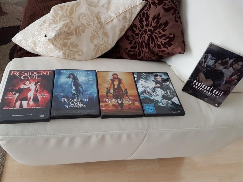 Resident Evil Collection 1-4+Degeneration!!!