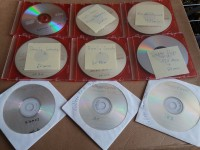 9 DVDs / CD`s