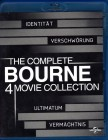 The Complete BOURNE 4 MOVIE COLLECTION 4x Blu-ray BOX