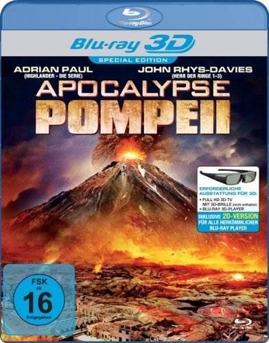 Apocalypse Pompeii - Real 3D [3D+2D Blu-ray] OVP