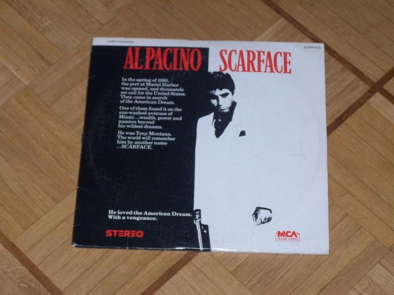 US NTSC Laserdisc: Scarface (1983)