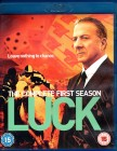 LUCK Complete First Season BLU-RAY Dustin Hoffman HBO Import