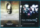 Final Destination 1 & 2 (2 DVDs) sehr gut - NEUWERTIG