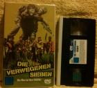 Die verwegenen sieben CIC VHS Patrick Swayze/Gene Hackmann