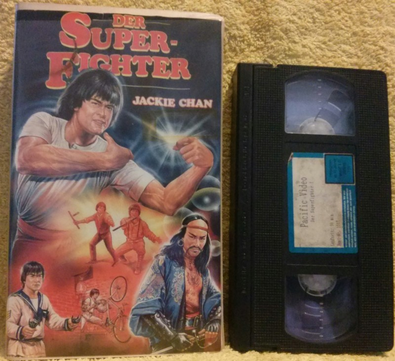 Der Superfighter VHS Jackie Chan Pacific Video (A11)