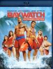 BAYWATCH Blu-ray - Dwayne Johnson Zac Efron Action Fun 2017