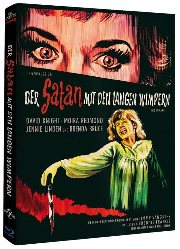 SATAN MIT DEN LANGEN  WIMPERN - DVD/BD Mediabook A LE OVP