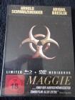 MAGGIE UNCUT BLU-RAY + DVD 2 DISC MEDIABOOK NEU / OVP