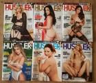 Hustler Magazine - die aktuellen 6 Hefte im Set - 2018