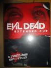 Evil Dead - Extended Cut, Mediabook,uncut, deutsch, Blu-Ray