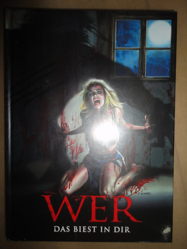 WER - Das Biest in Dir , Mediabook,uncut, deutsch, Blu-Ray