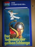 Der Todesbiss der gelben Schlange, gr. Hartbox , DVD