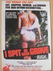 I Spit on Your Grave Postkarte (sehr selten)