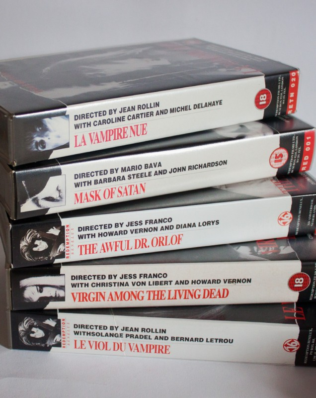 5x Redemption (uncut) Bava, Franco, Rollin
