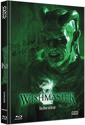 Wishmaster 2 - Mediabook B (Blu Ray+DVD) NEU/OVP