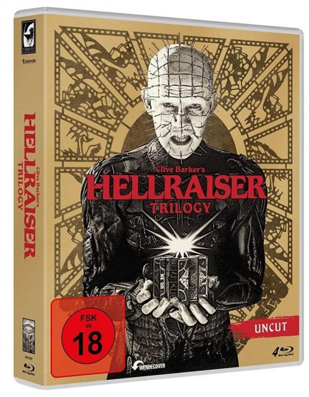 Hellraiser 1-3 Trilogy Box [Blu-ray] (deutsch/uncut) NEU+OVP