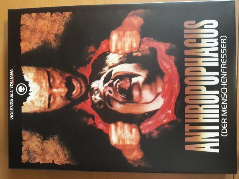 Antropophagus 4 Disc Cinestrange Mediabook