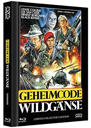 Der Commander /Geheimcode Wildgänse Mediabook