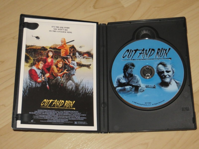 Cut and Run US- DVD Anchor Bay Ruggero Deodato