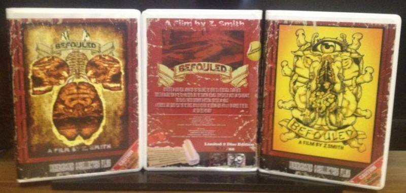 BEFOULED 2 Disc SE Großbox #2/66 SICKO BEGOTTEN OROZCO SNUFF