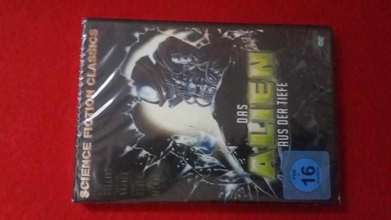 Das Alien aus der Tiefe! Horror Sci-Fi-Klassiker! Neu & OVP!