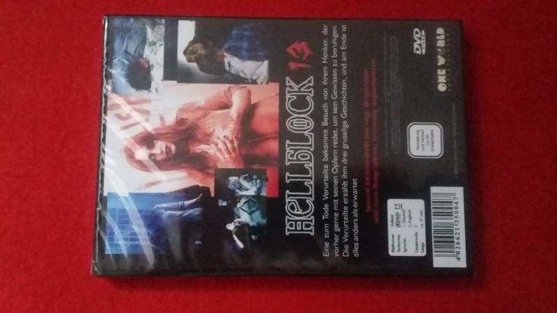 Hellblock 13 - Horrorthriller! Gunnar Hansen! OVP!
