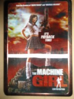 The Machine Girl, Steelbook, deutsch, 96 min, DVD