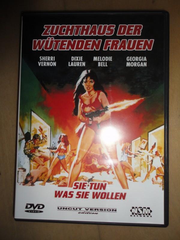 Zuchthaus der wütenden Frauen, NSM,  DVD