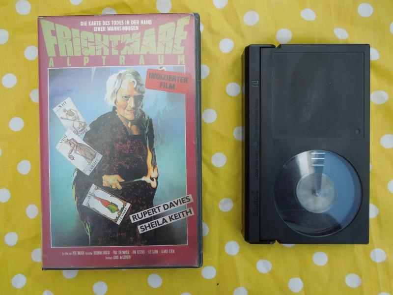 Betamax FRIGHTMARE ALPTRAUM FSK 18