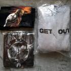 Horrorfilm T-Shirt +Pulli Paket L Man Eater Das Böse GET OUT