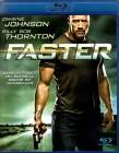 FASTER Blu-ray - Dwayne Johnson Billy Bob Thornton Action