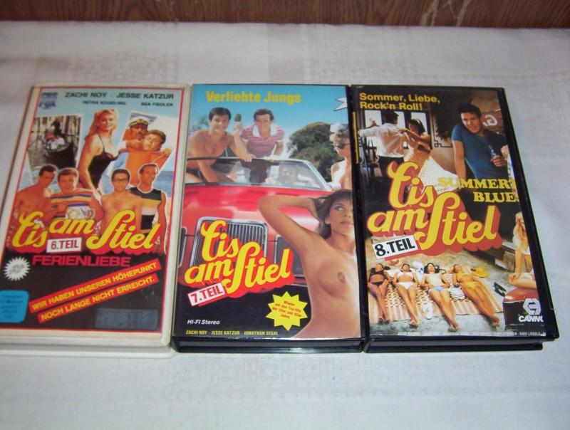 Eis am Stiel Teil 6-8  -VHS-