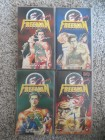 Crying Freeman 1,2,4,5,6 (VHS) Manga Video Anime englisch