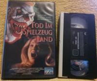 Tod im Spielzeugland VHS Charles Band Uncut Erstausgabe