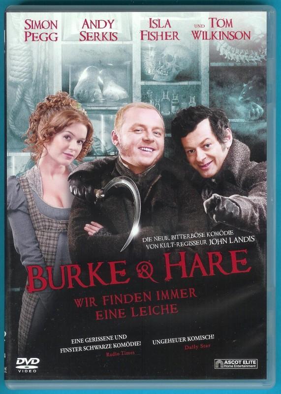 Burke & Hare DVD Simon Pegg, Isla Fisher NEUWERTIG