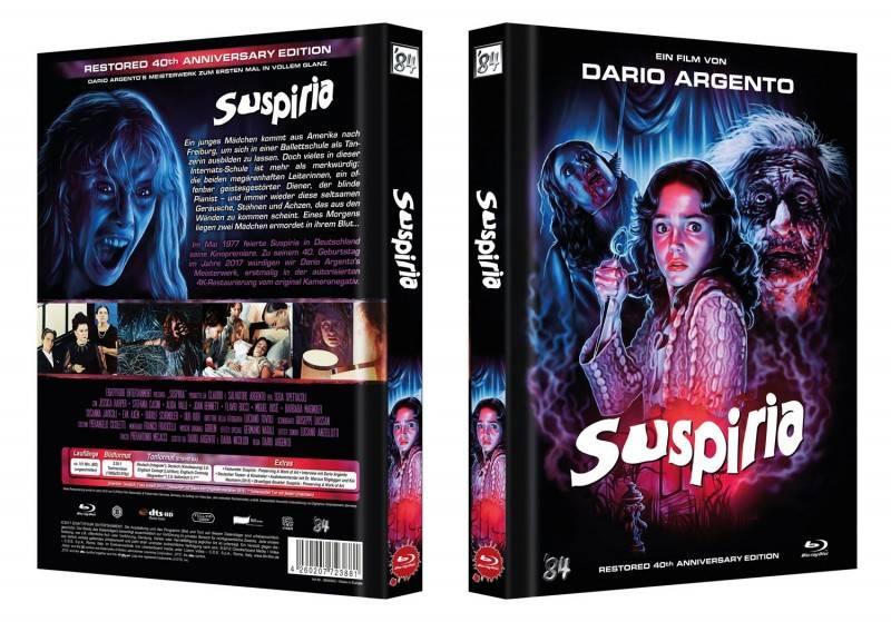 Suspiria - 40th Edition - Blu-ray Mediabook OVP