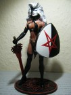LADY DEMON Custom Warpaint Unikat MOORE