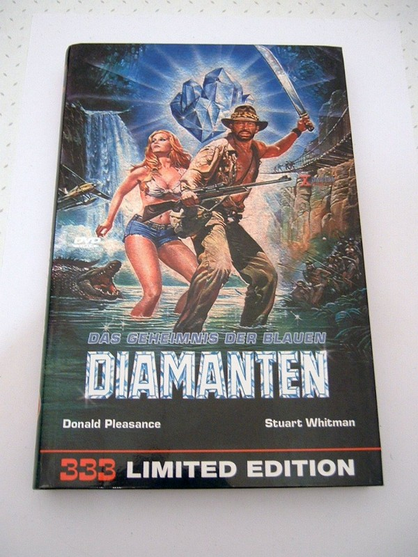 Das Geheimnis der blauen Diamanten (große Buchbox, limitiert