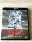 THE CRAZIES(TOLLES REMAKE,ZOMBIES)BLURAY UNCUT