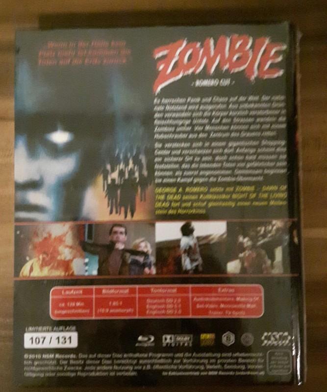 Zombie Dawn of the Dead kl. Hartbox NSM rar oop selten  ovp
