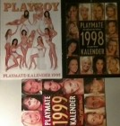 Playboy Playmate-Kalender 1985, 1998,1999