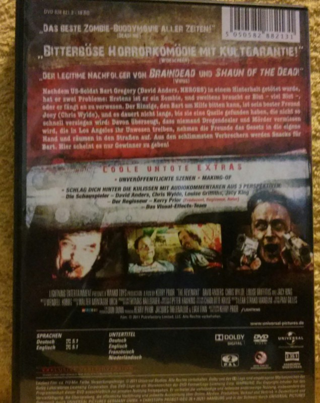 Untote wie wir aka The Revenant Uncut DVD (E)