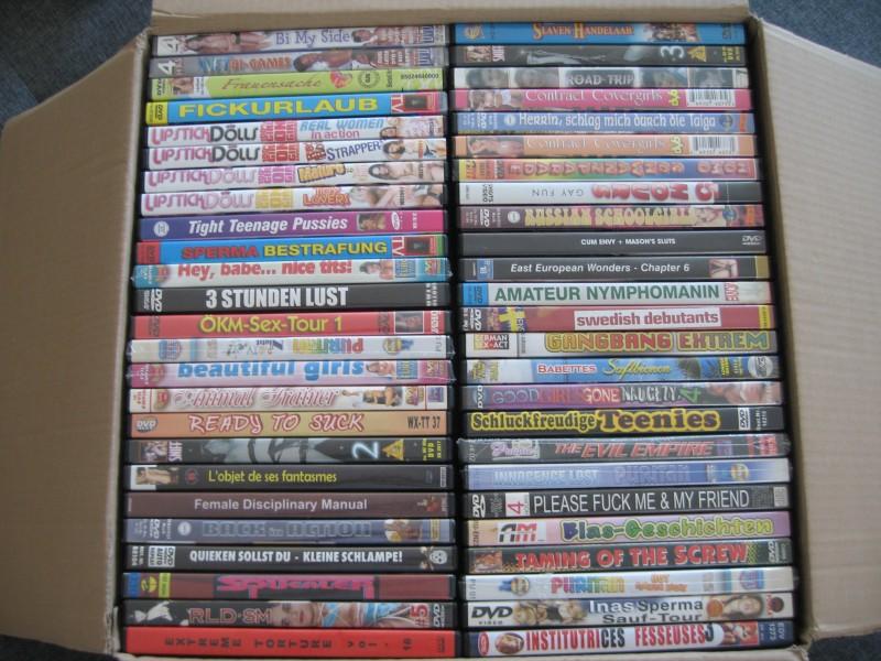 50 DVD Sammlung Pornos / Zb Evil Empire , SM