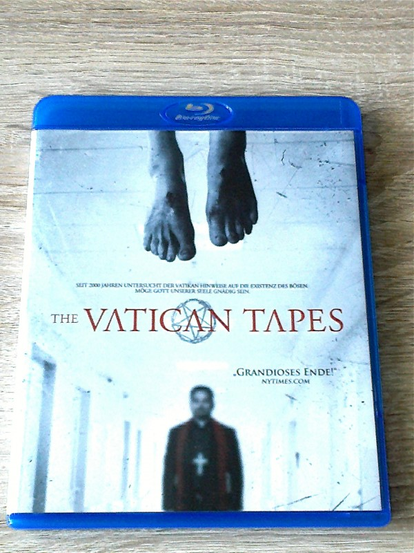 THE VATICAN TAPES(EXORZISMUS THRILLER)BLURAY  UNCUT