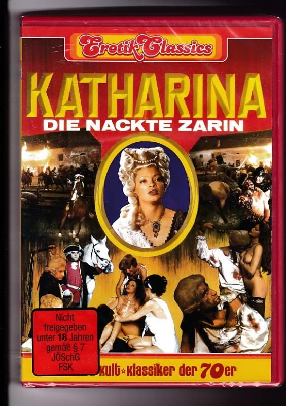 Katharina - Die nackte Zarin - Sandra Nova  DVD NEU