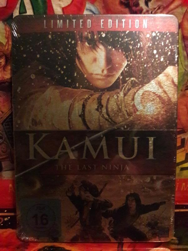 Kamui - The Last Ninja UNCUT (Limited-Steelbook) NEU/OVP