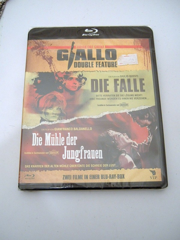 Giallo: Die Falle & Die Mühle der Jungfrauen (OVP, Blu-ray)