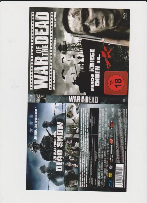 War of the Dead - BlueRay - Rarität - Uncut